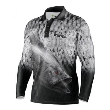 Barramania Sublimated Fishing shirt Front