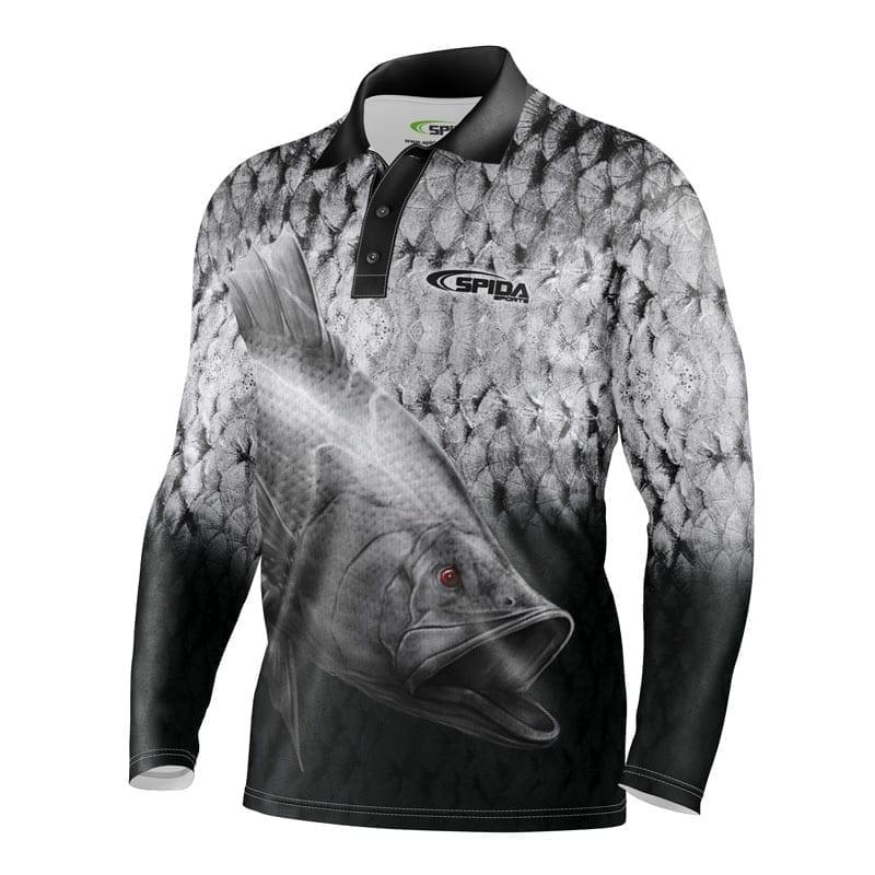 Barramania Sublimated Fishing shirt Front