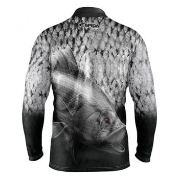 Barramania Sublimated Fishing shirt back