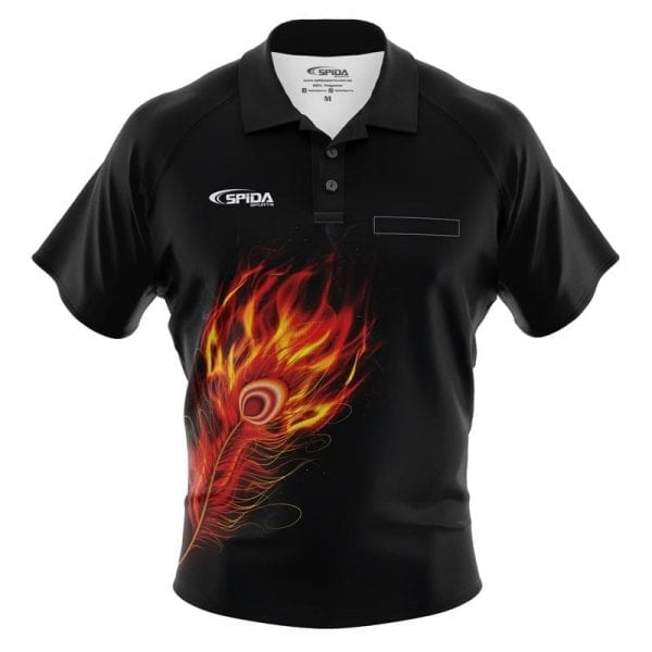 Flaming-Feathers-Dart-Shirts-Front