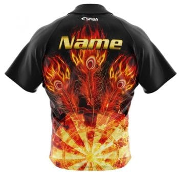 Flaming-Feathers-Dart-Shirts-back
