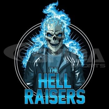 Hell-raisers-dart shirt design