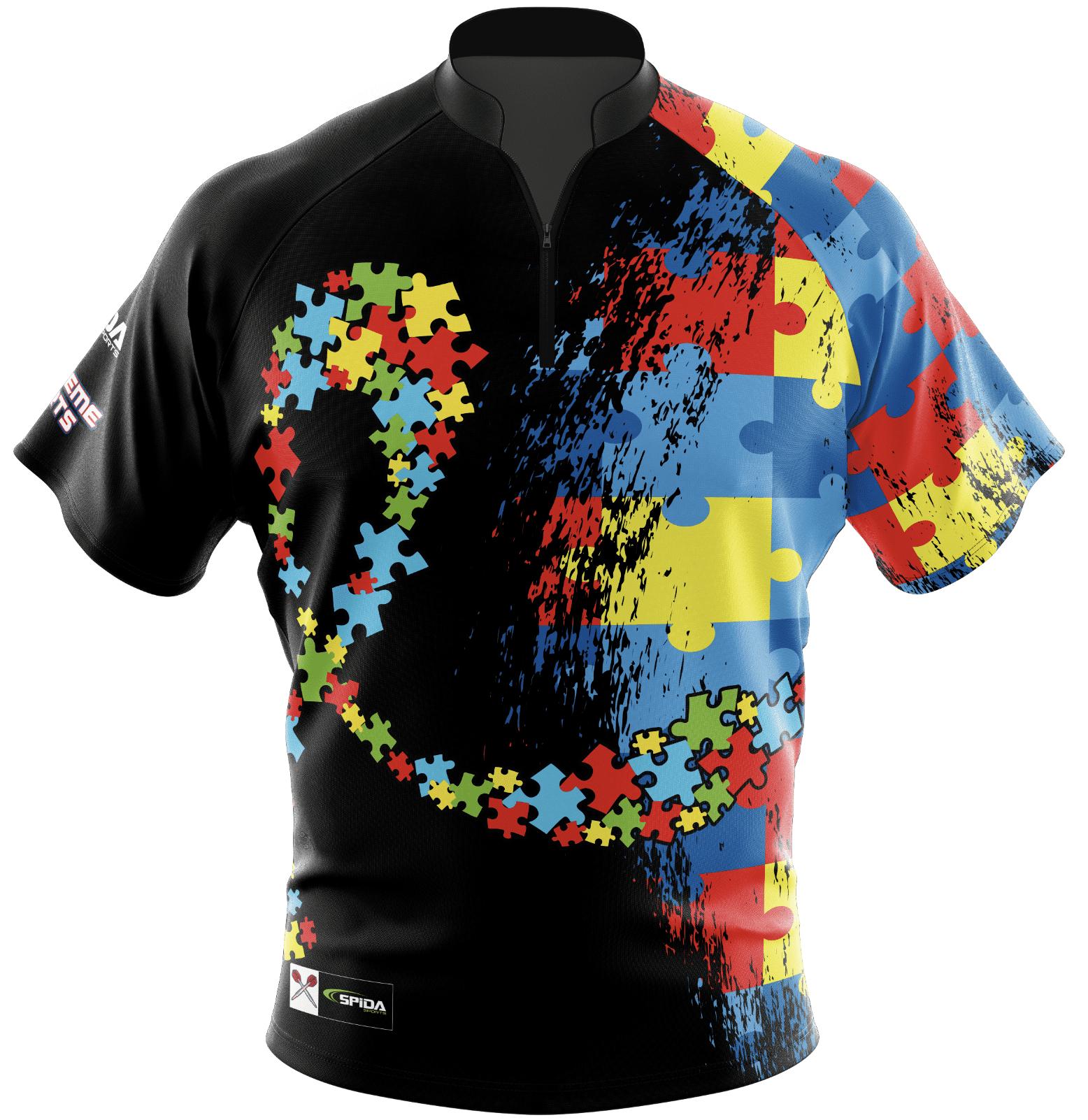 Autism Dart Shirts