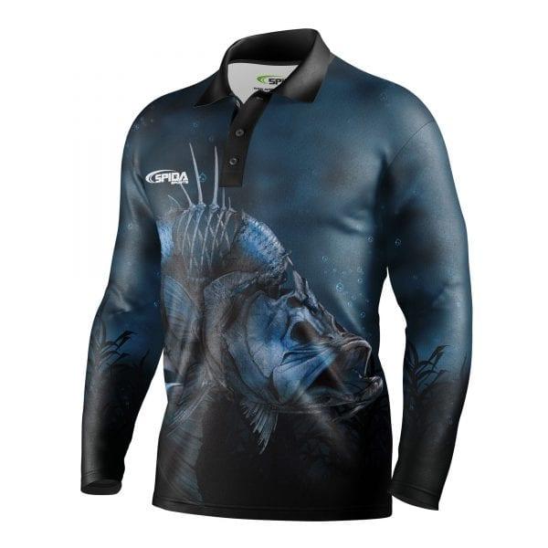 Zombie-Barra-Personalised-Fishing-Shirts