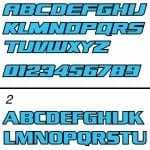 BMX-Font-Styles