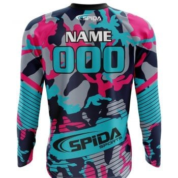 BMX-Jerseys-Camo-Design-Back