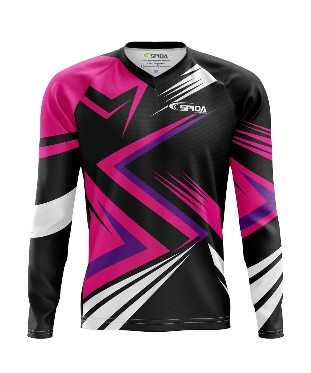 BMX-Jerseys-Hot-Pink--Design-Front