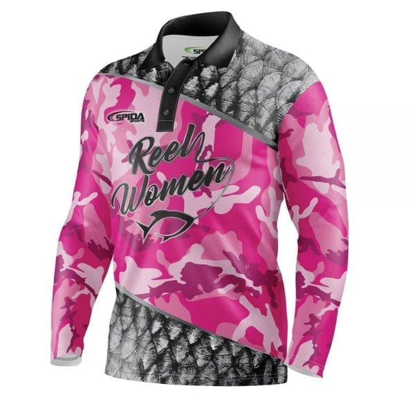 Reel-Women-Fish-fishing-jerseys