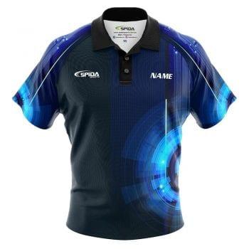 Digital Tepin bowling shirt
