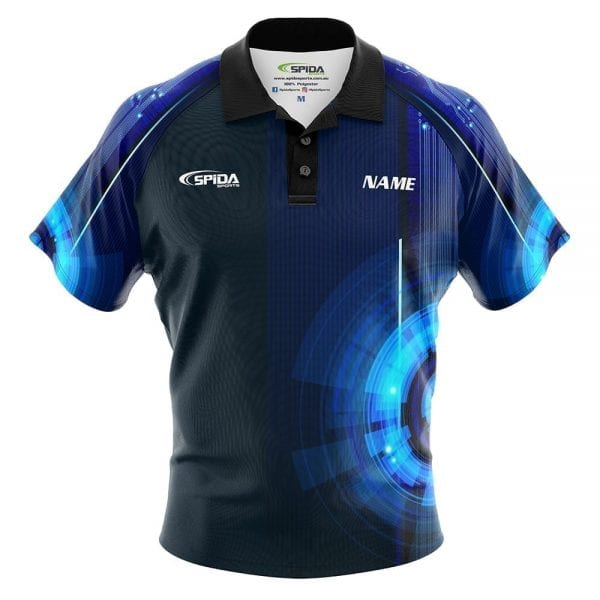 Digital Tepin bowling shirt