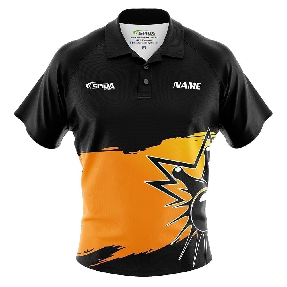 Strike tenpin bowling shirt