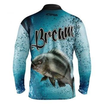 Bream-Personalised-Fishing-Shirts-Back