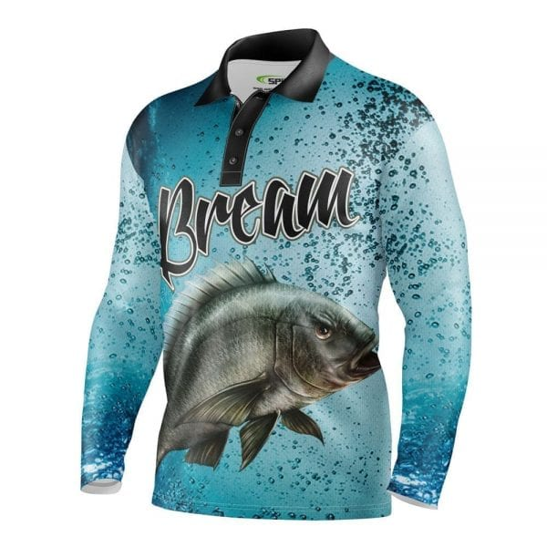 Bream-Personalised-Fishing-Shirts-Front
