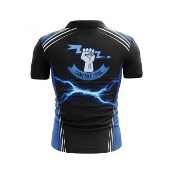 Electrical-1-Sublimated-Polo-Shirts-3D-back