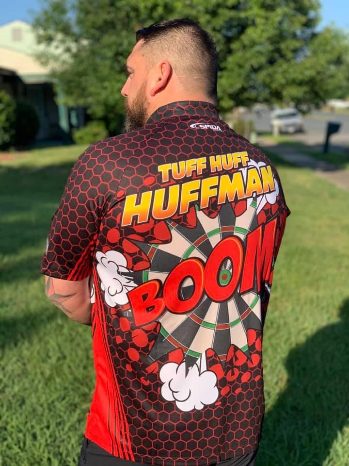 Joe Huffman Boom Dart shirts