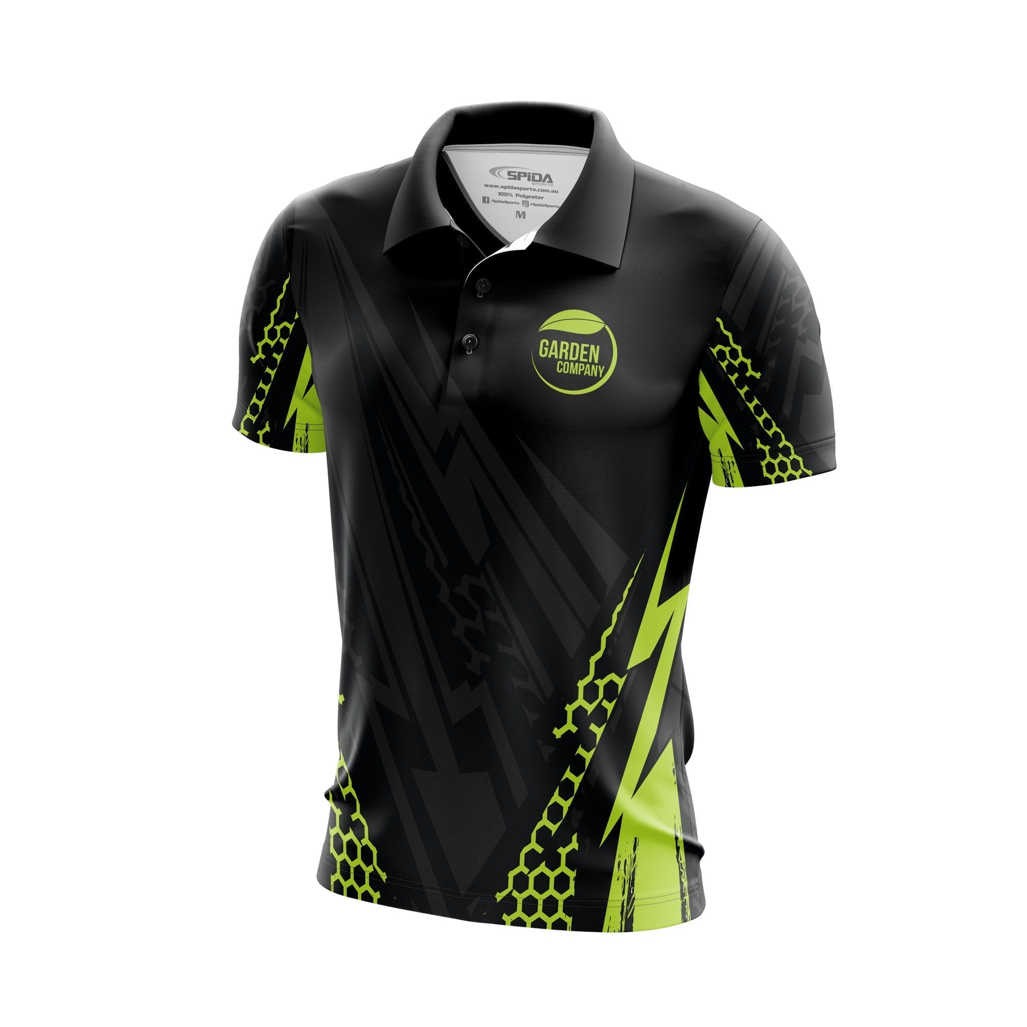 Spark-2-Polo-Shirts-3D-front