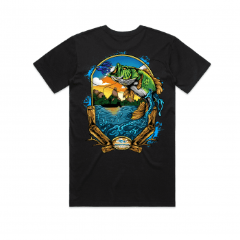 Bass Glasshouse Mountain Graphic tees