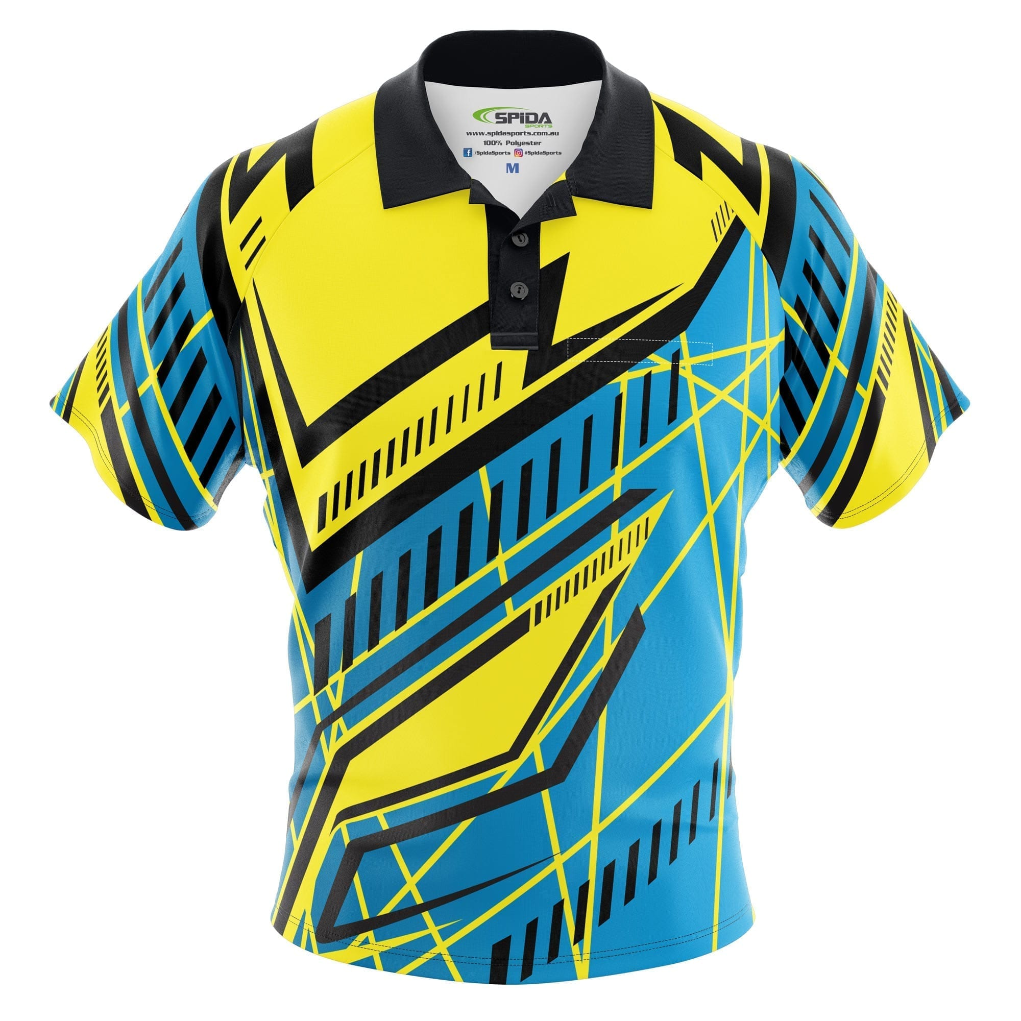 Abstract-Sublimated-Polo-Shirt-Front