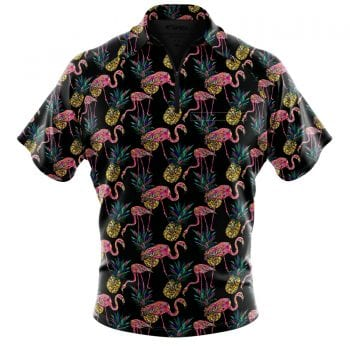 Dart-party-Shirt-Concept-3-3D-Front-Pinapple-&-Flamingo