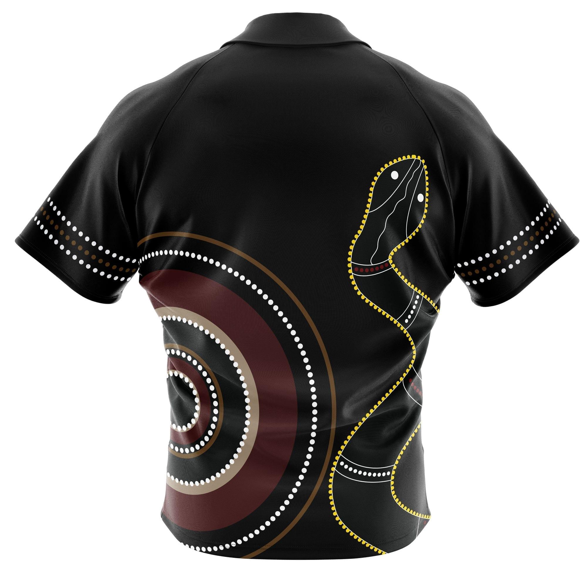 Serpent-Aboriginal-Clothing-Back