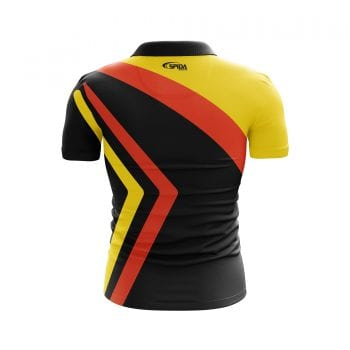 Arrows-Sublimated-Polo-Shirts-Back