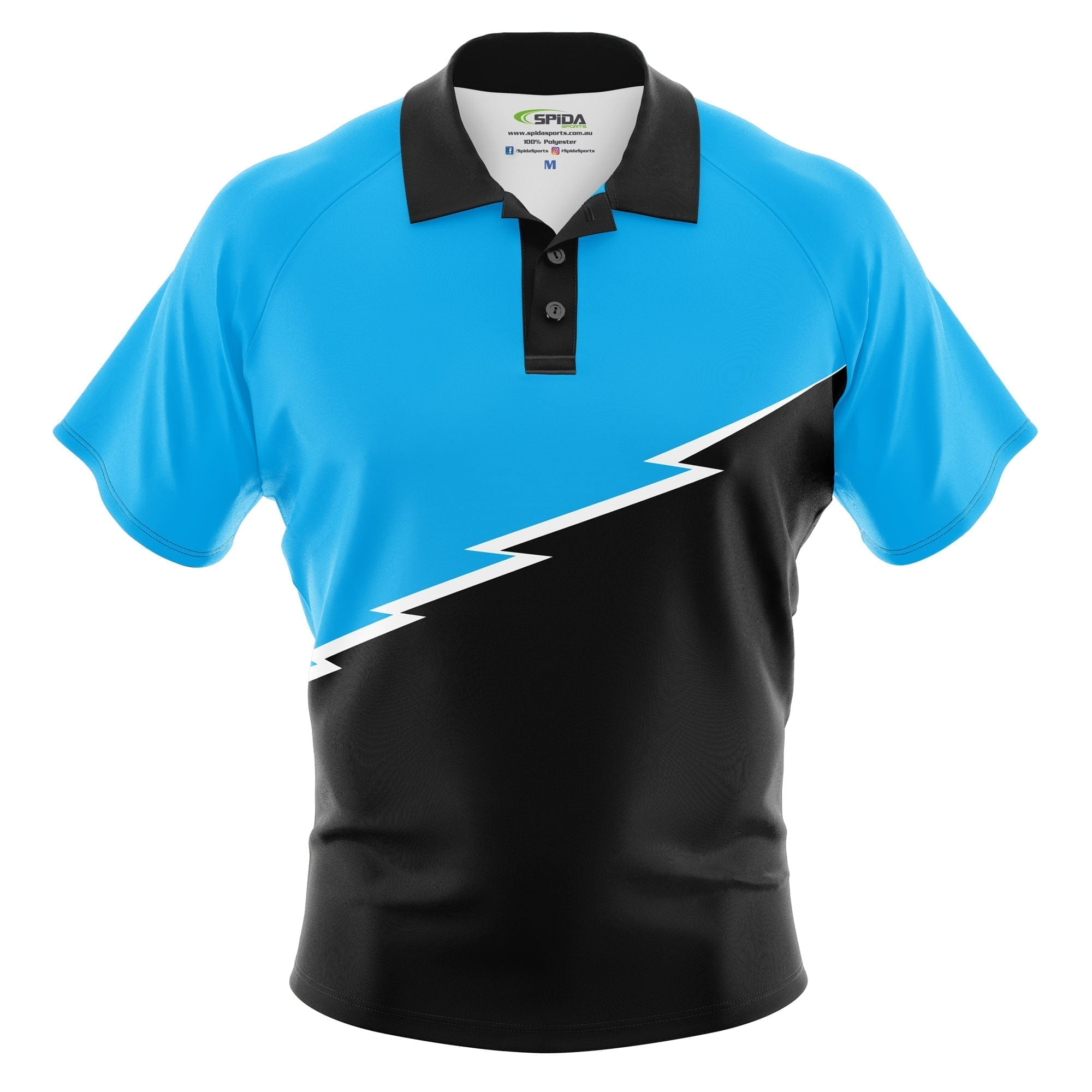 Bolt-Sublimated-polo-shirts-front