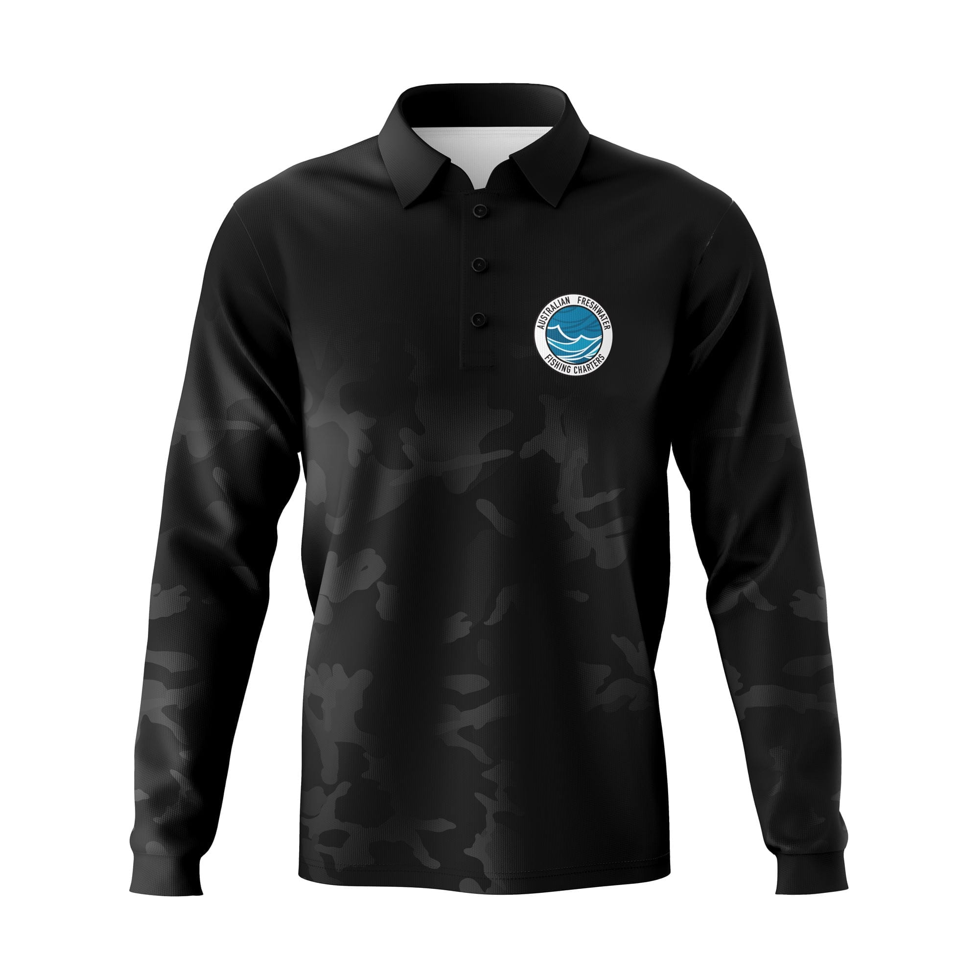 AFFC-Fishing-Shirt-Front-Dark-Camo-ML