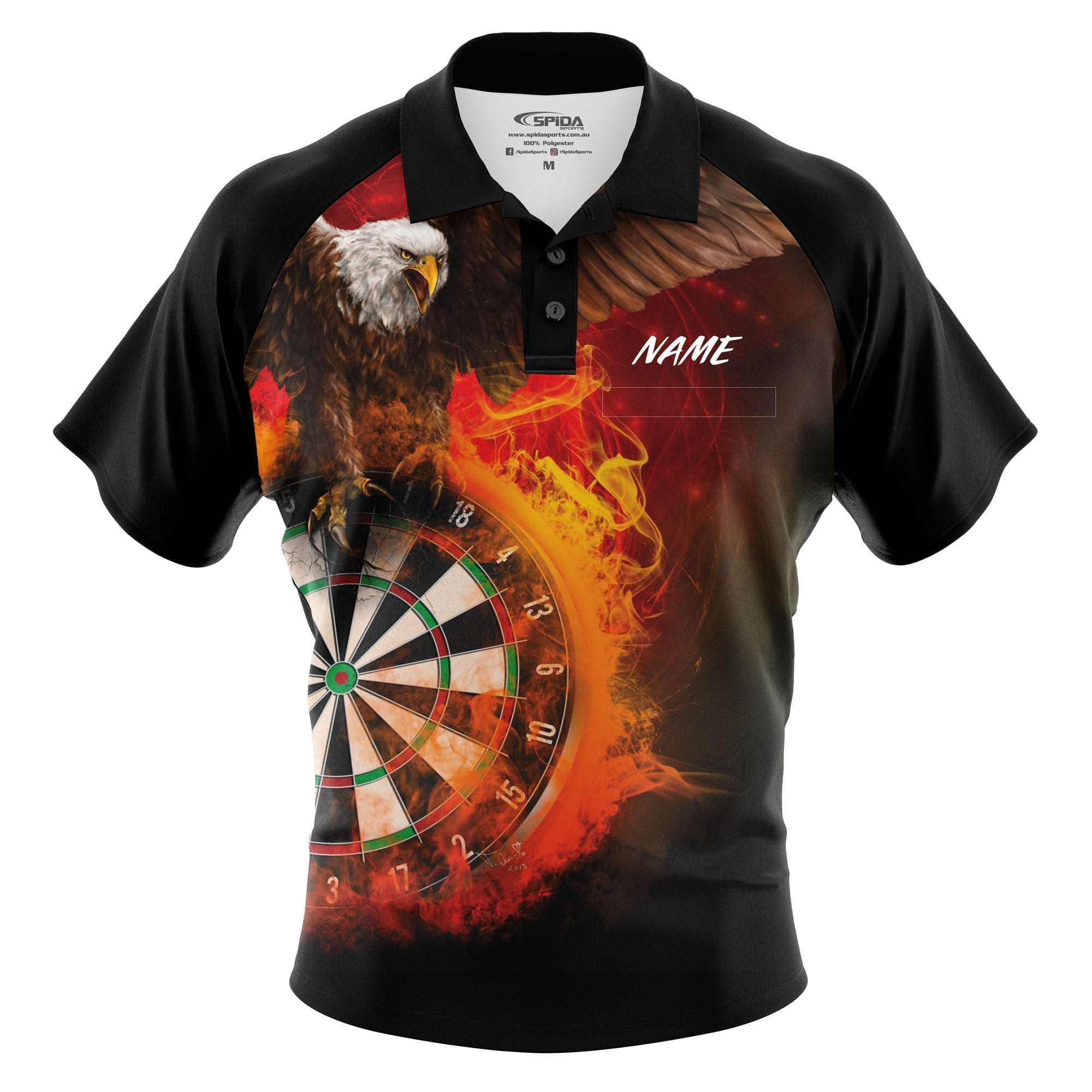 Eagle-Dart-Shirt-3D-Front-with-name