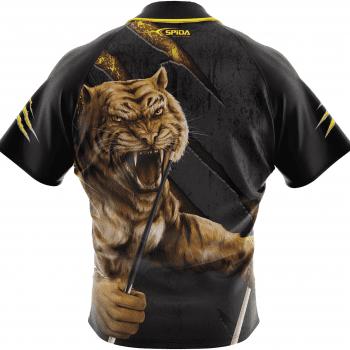 Tiger Polo Shirt Back