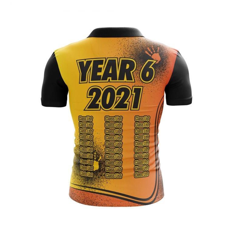 Hand Print Year 6 Shirts
