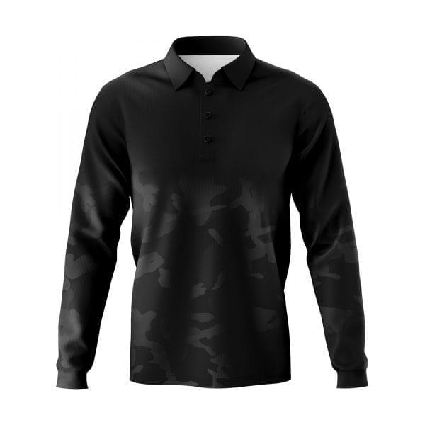Dark Camo Fishing shirts