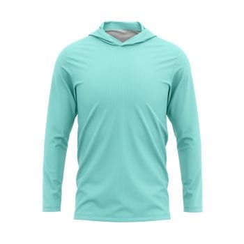 Clean-Skin-Fishing-Shirts-Front-3d-Mint