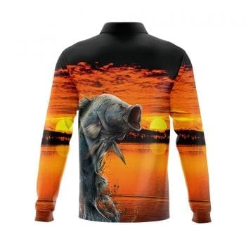 Sunset-Barra-Fishing-shirts-3D-Back