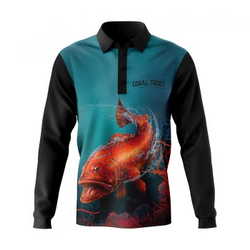 Coral-Trout-Fishing-Shirt-Front