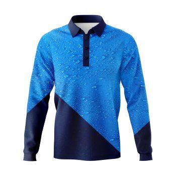 Water-drops-Fishing-shirts-3D-Front